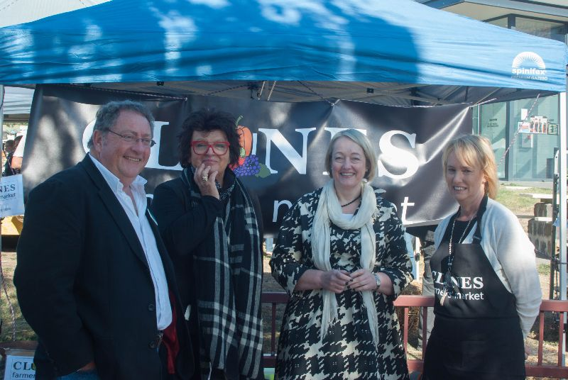 Launch of Clunes Farmers' Market
