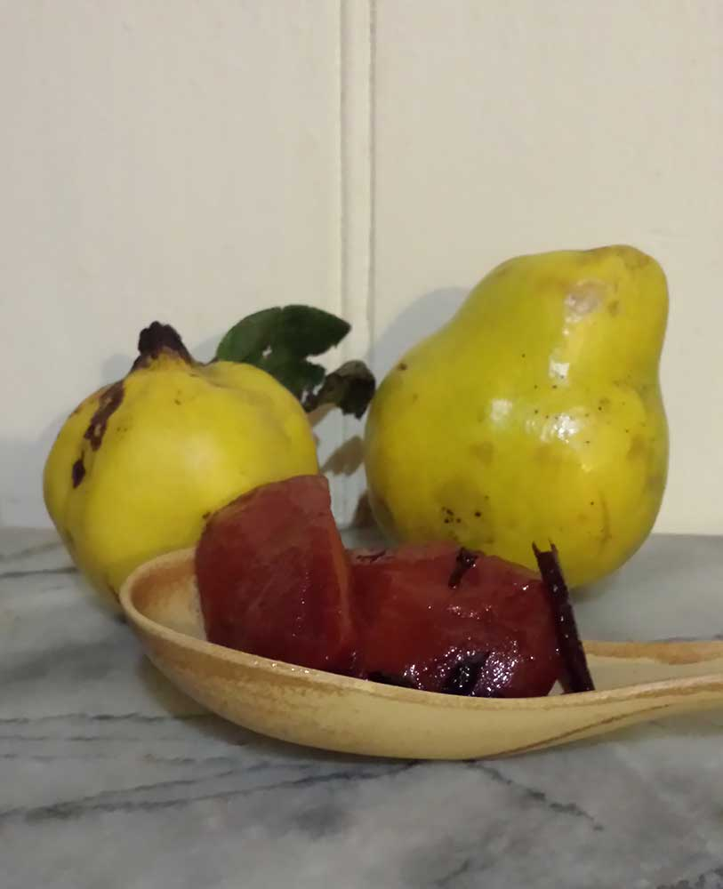 Slow Cooked Quince